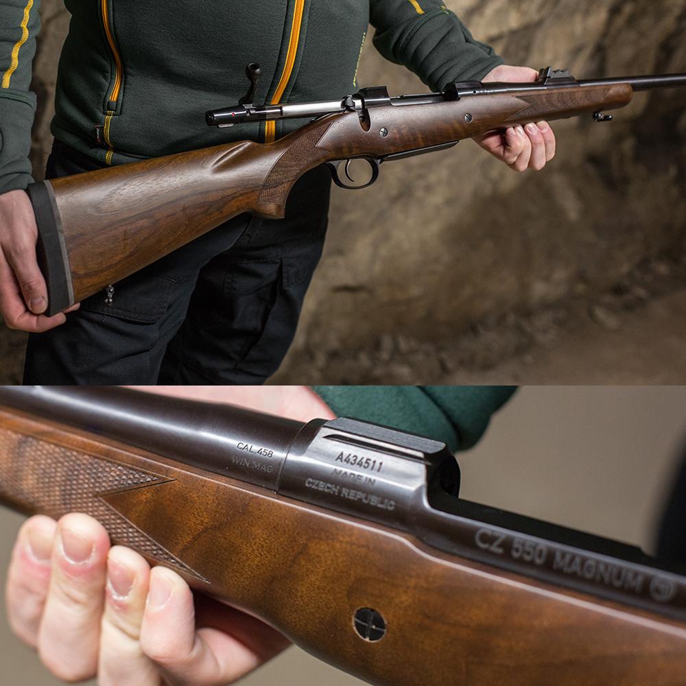 CZ 550 Magnum 458 winmag